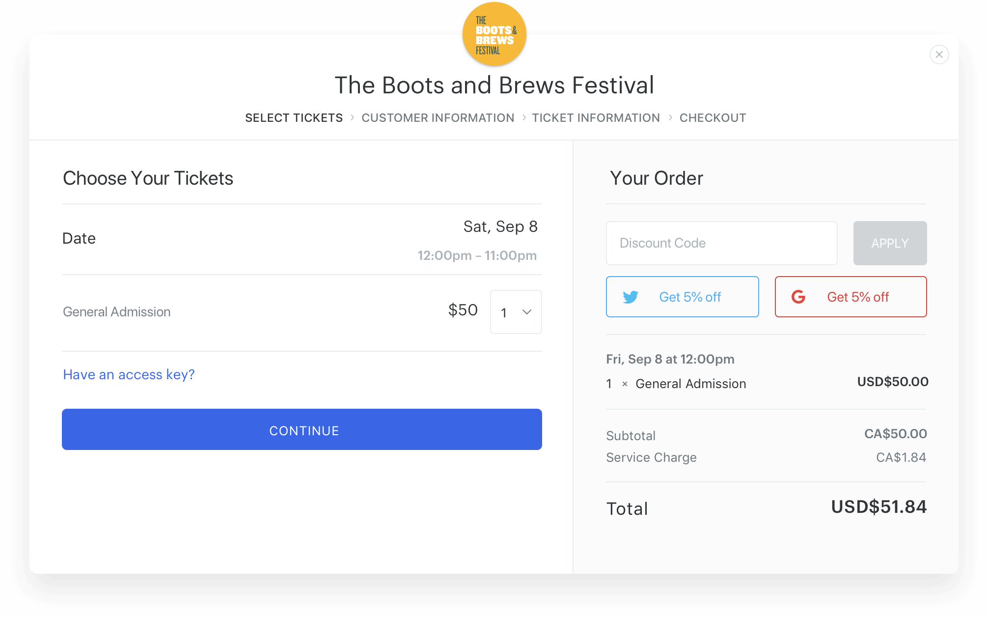 Event Ticketing - Create Your Event and Sell Tickets Today